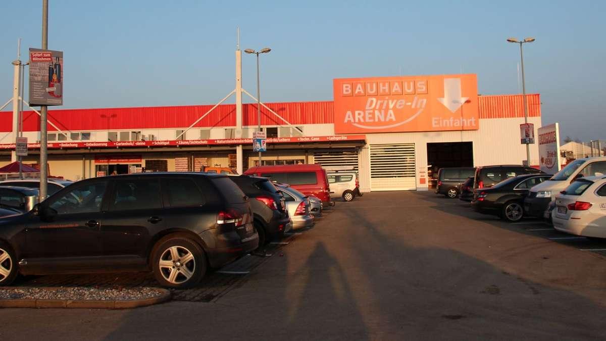 Bauhaus Drive In Arena In Memmingen Memmingen