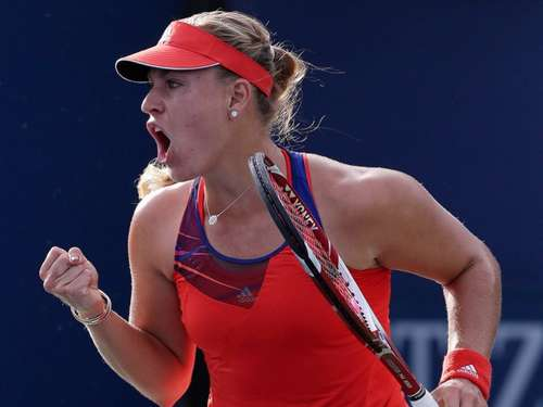 US Open: Angelique Kerber im Achtelfinale