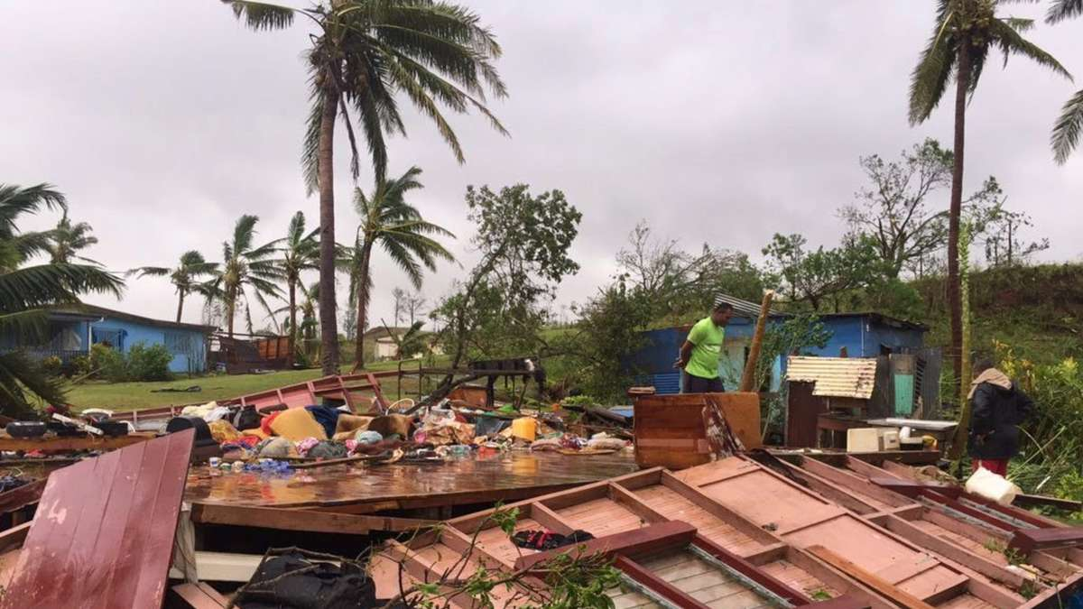 Zyklon Fidschi