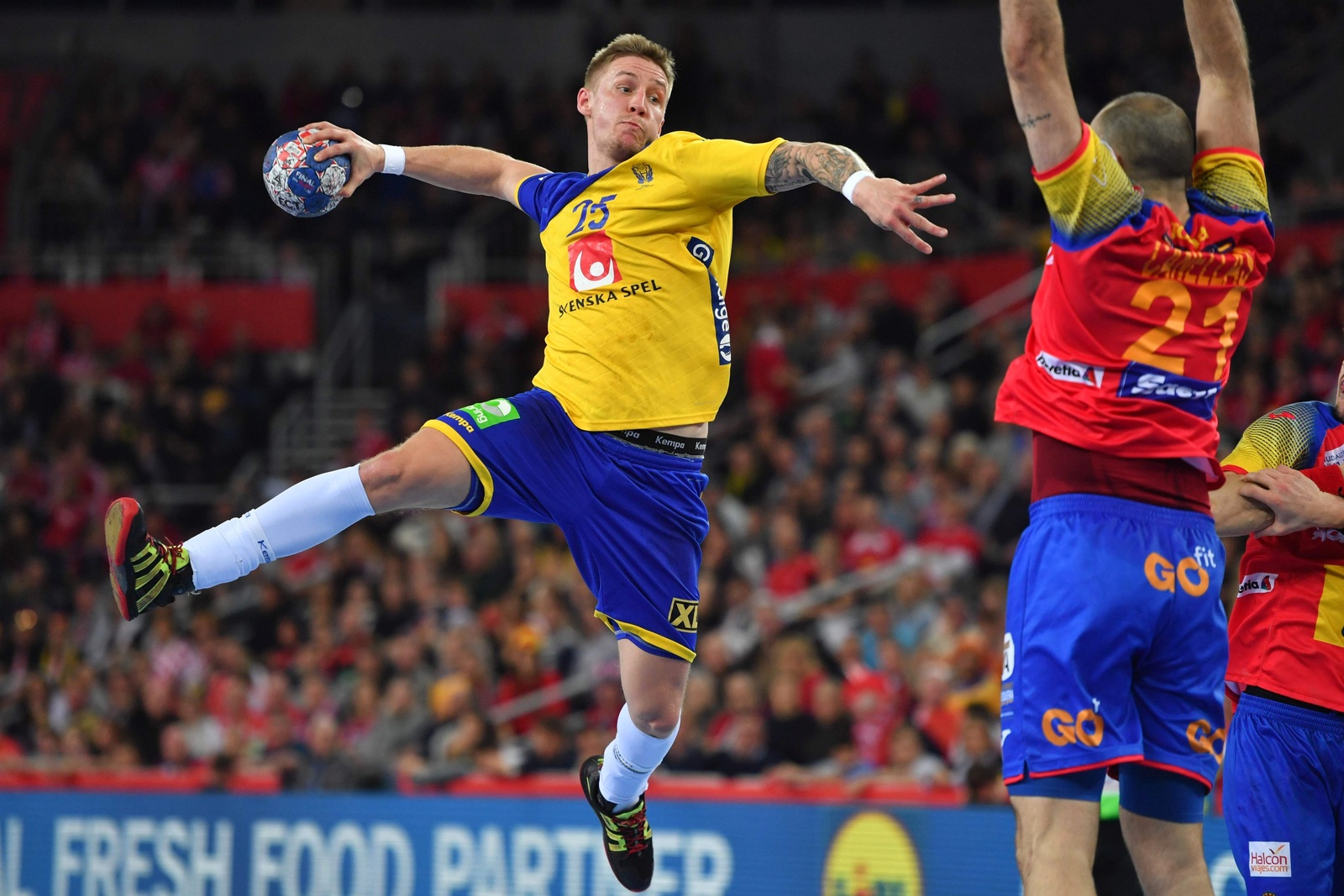 handball em spanien schweden