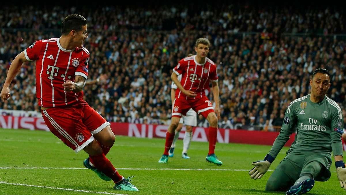 Real Madrid Gegen Bayern München