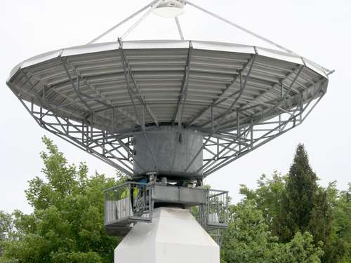 Neue Satellitenanlage in Memmingen