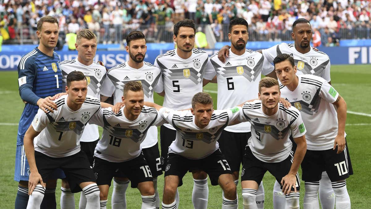 Aufstellung Deutschland Gegen Südkorea