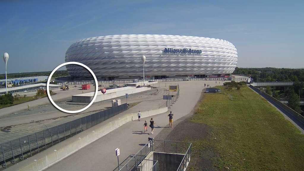 Parken Außerhalb Der Allianz Arena