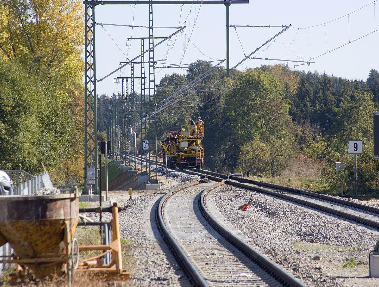 Elektrifizierung Der Bahnstrecke München Lindau Längste