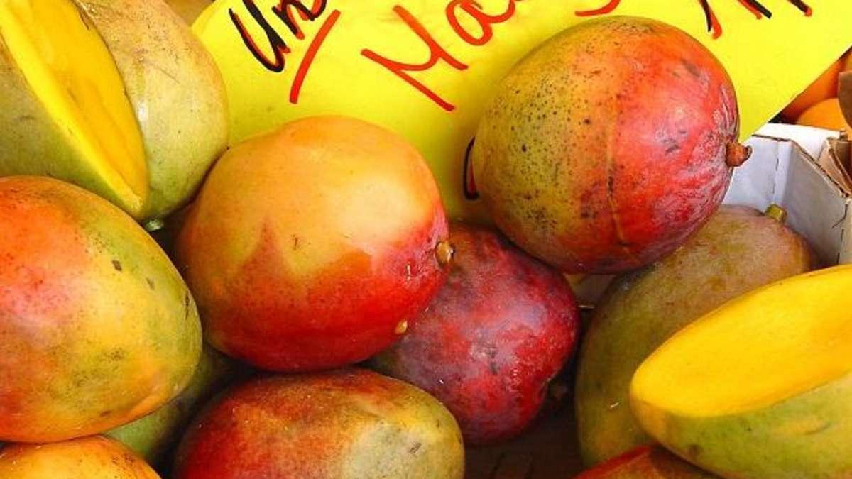 Wie Mango Schälen
