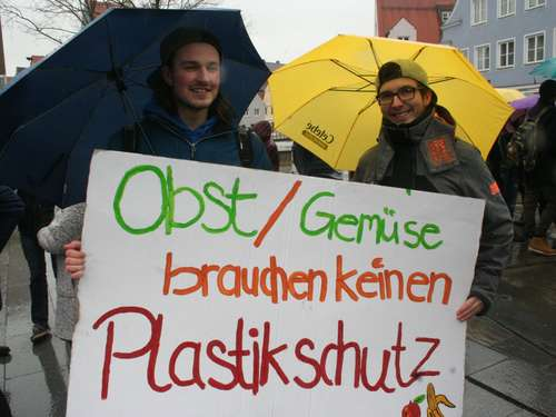 """Fridays for Future"" in Memmingen"