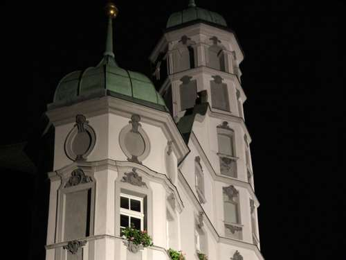 """Earth Hour"" in Memmingen"