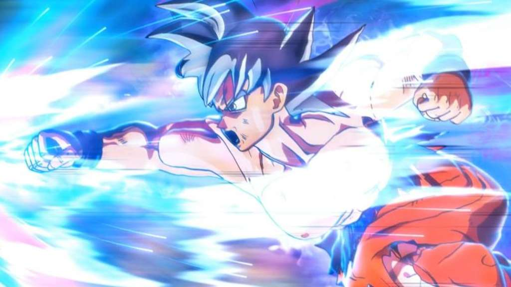 "Attacke! Freunde des Dragon-Ball-Franchises könnte ""Super Dragon Ball Heroes: World Mission"" gefallen. Screenshot: Bandai Namco/dpa-tmn Foto: Bandai Namco"