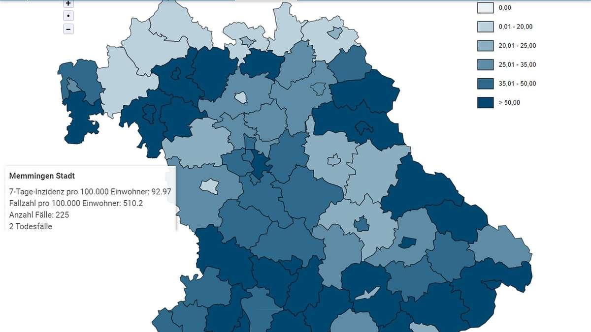 Corona Entwicklung Bayern